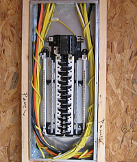 Consult with your electrician to locate breaker panel boxes.