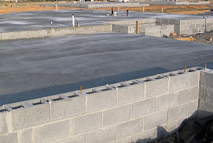 Block-fill slab