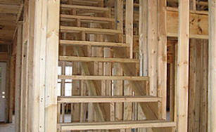 frame stairs