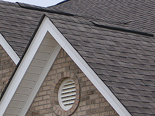 Ridge vents with shingle layover
